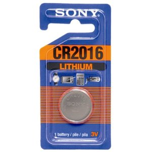 Sony Lithium Coin Battery CR2016