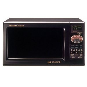 Sharp 900-Watt 0.9 Cubic Foot Convection Microwaves