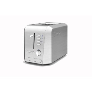 DeLonghi CTH2003 Pro-Metal 2-Slice Toaster