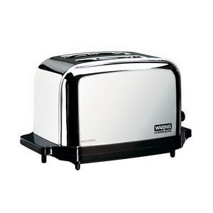 Waring Commercial Toaster Light Duty Chrome Plated 2 slice