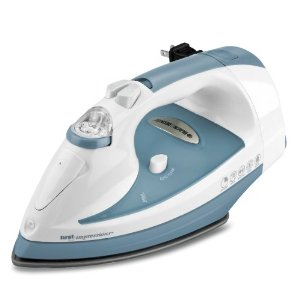 Black & Decker ICR505 First Impressions Cord-Reel Iron with Nonstick Soleplate