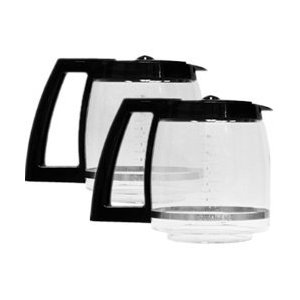Cuisinart DCC-1200PRC-2PK Coffeemaker 12 Cup Carafe with Lid, Black, 2 Pack