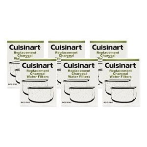 Cuisinart DCC-RWF-6PK Charcoal Water Filters, 2 Year Supply, Includes 6 DCC-RWF packages. 2 Filters