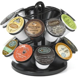 K-Cup� 5571 Mini 18-Cup Carousel, Black