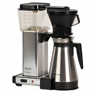 Technivorm KBT-741 Moccamaster polished silver Coffee Maker 1.25-L.