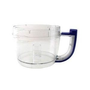 KitchenAid 12-Cup Food Processor Work Bowl, Cobalt Blue