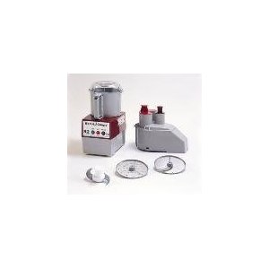 Commercial Food Processor, Grey 3 qt Bowl Attach., Cont. Feed Attach.