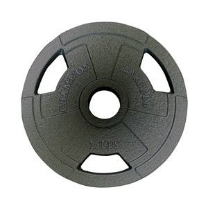 Olympic Grip Plate 25LB (EA)