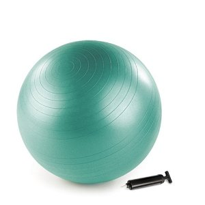 Stott Pilates Stability Ball Plus Gift Pack with DVD (Green, 65 cm)