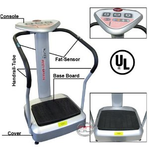 New Crazy Fit Massage Vibration Platform Body Slimmer