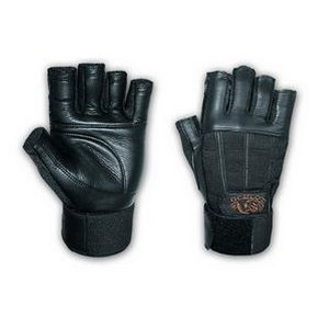 Valeo Black Ocelot w/ Wrist Wraps Lifting Glove