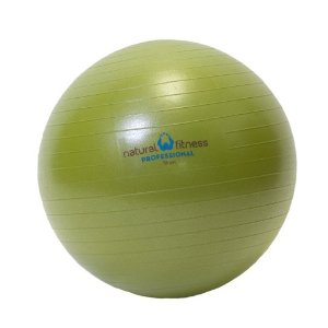 Natural Fitness 55cm Professional Burst-Resistant Exercise Ball (Moss)