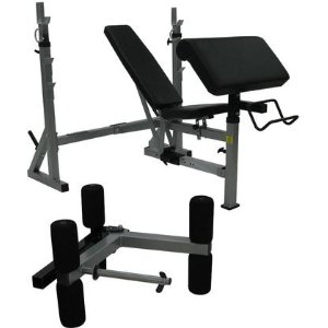 Valor Fitness BF-37 FID Olympic Bench w/ Leg/Preacher Curl