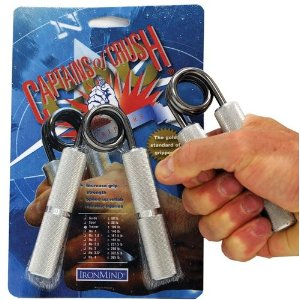 Captains of Crush Hand Grippers - 10 Strength Levels