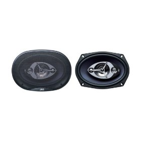 JVC CS V6945 - Car speaker - 60 Watt - 4-way - coaxial - 150 x 230mm