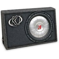 Kicker Comp 07TCVT102 Thin-Prof Seal Box 2-Ohm Subwoofer