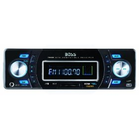 Boss 750DI Solid State MP3 Receiver with Built-In iPod Docking Station