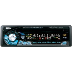 Boss Audio BV6000 In-Dash DVD/CD/MP3 & AM/FM Receiver