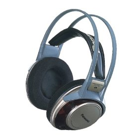 PANASONIC RP-HT660 Monitor Headphones with Auto Rewinding Cord