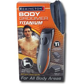 Remington Titanium Body Groomer