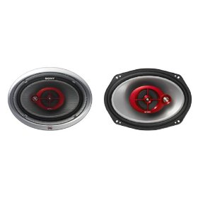 Sony XS-GF6932X Xplod 6 x 9 inch 3-Way 300 Watt Car Speakers