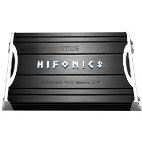 Hifonics Zeus ZXI6010 600 Watt A/B Class Two-Channel Amplifier