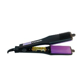 Hot Tools Professional 1189 Ceramic 2 Inch Wide Flat Iron with Gentle Far-Infrared Heat