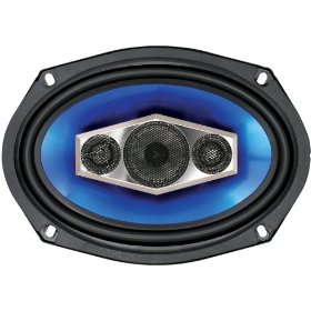 Boss Audio BL6950 6 x 9 Four-Way 550 Watt Blade Speakers