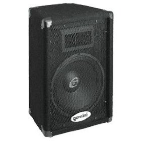 GCI TECHNOLOGIES GT1002 10 Inch 2-Way Trapezoid 300W Max Speaker