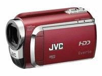 Jvc gzmg630rus red camcorder 60gb 40xzoom laser touch