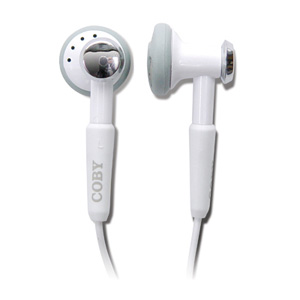 Coby cvm809 earphone digital volume control hands free kit