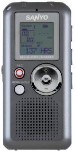 Sanyo icrfp550 voice recorder digital 280hours mp3