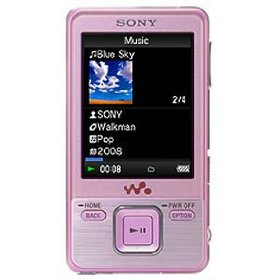 Sony 8 GB Walkman Video MP3 Player (Pink)