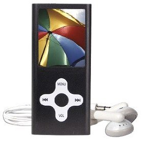 4GB USB MP4/MP3/ FM/Voice w/1.75