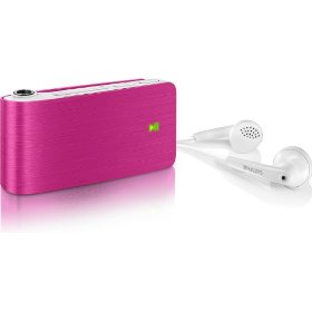 Philips GoGear 4 GB MP3 player (Pink)