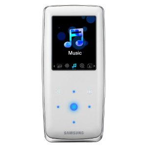 Samsung S3 4 GB Slim Portable Media Player (White)