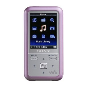 Sony 2 GB Walkman Video MP3 Player (Pink)