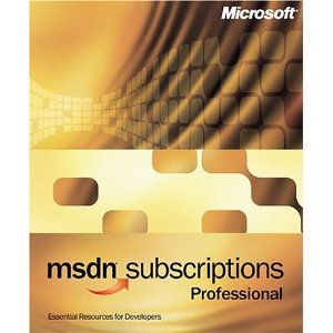 Microsoft MSDN Professional Subcription 7.0