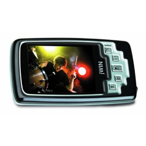 JWIN 4GB 2.0-Inch TFT Color LCD Video MP3 Player with FM Radio and Micro SD Slot