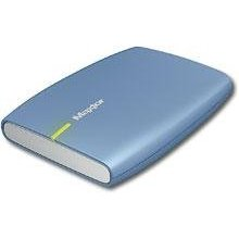 Maxtor Stm902503eca101-rk - 250gb External Usb 2.0 Portable Hard Drive - Topaz Blue