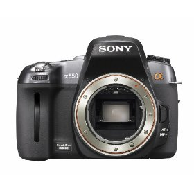 Sony Alpha DSLR-A550 14.2MP Digital SLR Camera (Body Only)