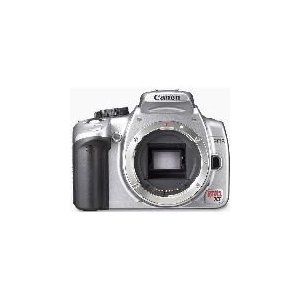 Canon Digital Rebel XT 8MP Digital SLR Camera (Body Only - Silver)
