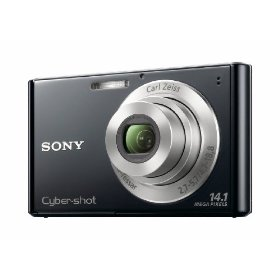 Sony DSC-W330 14.1MP Digital Camera with 4x Wide Angle Zoom with Digital Steady Shot Image Stabilization and 3.0 inch LCD (Black)