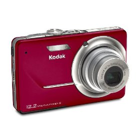 Kodak Easyshare M341 12.2MP Digital Camera with 3x Optical Zoom and 2.7-inch LCD (Red)