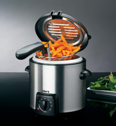 Deni 9340 mini stainless steel deep fryer 1 qt