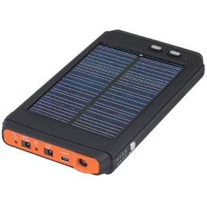 Solar Panel with 12000mah Supporting Notebook Adapter