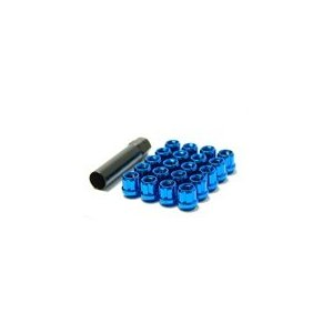 Muteki Open-Ended Lightweight Lug Nuts in Blue - 12x1.50mm
