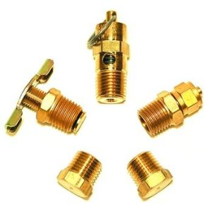 VIAIR VIAIR-90005 Air Tank Port Fittings Kit