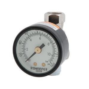 Sharpe (SHP3310) Air Adjusting Regulator with Gauge 0-160psi 36AAV-HV