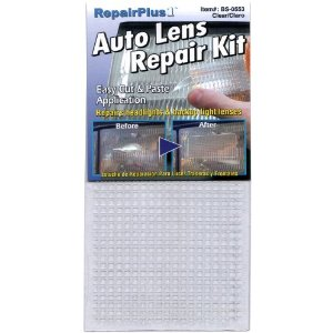 Auto Lens Tail Light Repair Kit (Clear)